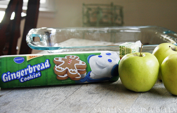 Apple Gingerbread Bars Ingredients