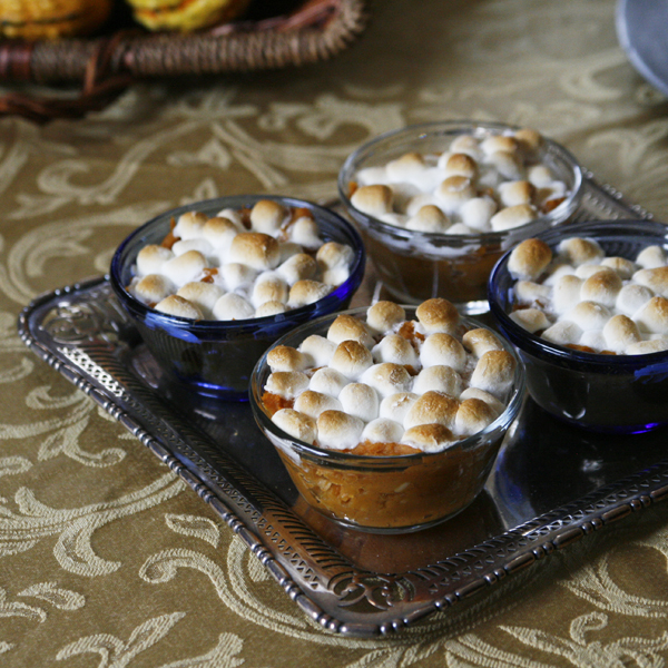 Individual Sweet Potato Casseroles #shop