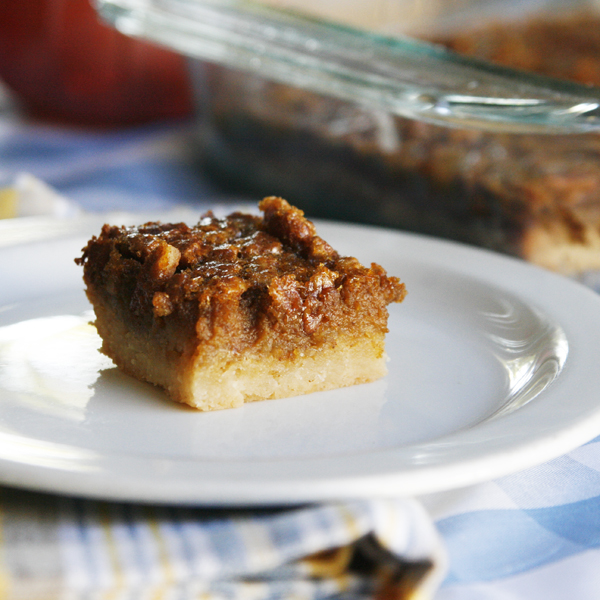 Pumpkin Pecan Bars