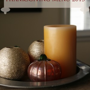 Sarah's Cucina Bella 2013 Thanksgiving Menu