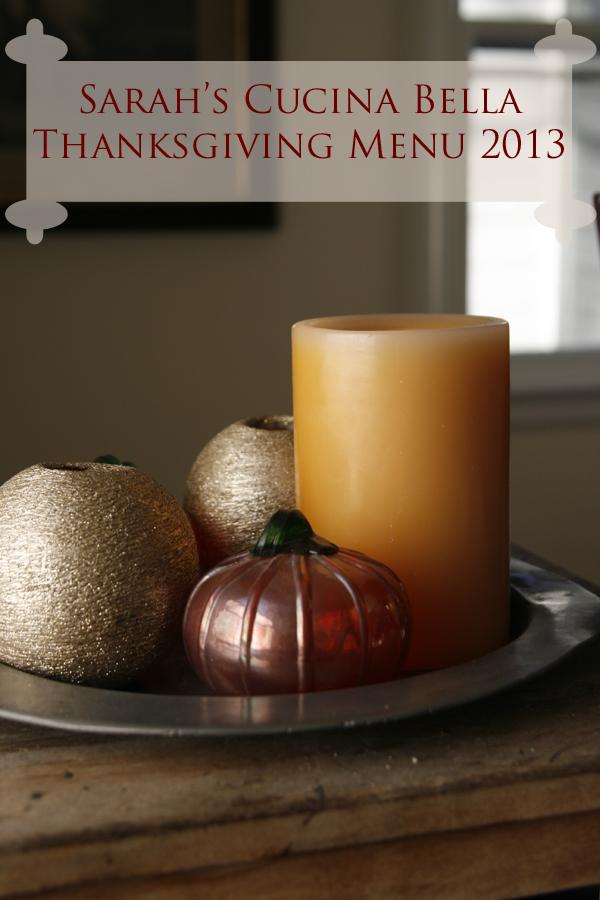 ThanksgivingMenu 2013