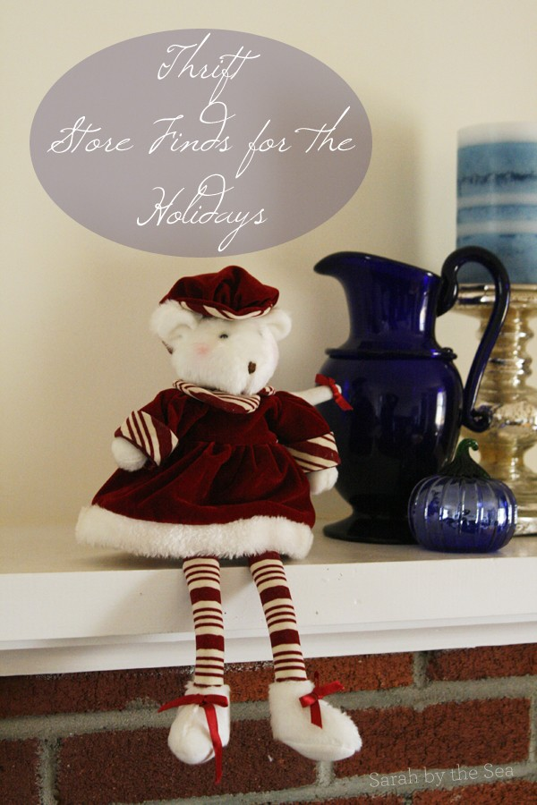 Inexpensive Holiday Decorating: Thrift Store Finds