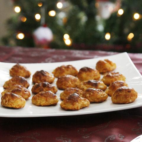 Cheesy Loaded Potato Bites