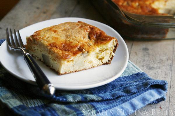 Cheesy Roast Beef Hash Egg Bake