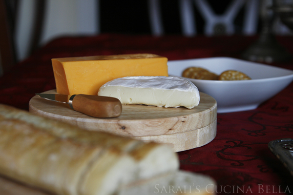 Holiday Appetizer Cheese Plate