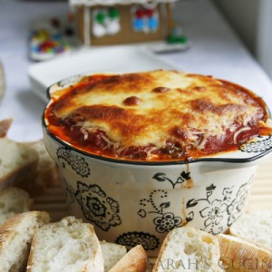 Cheesy Sausage Lasagna Dip Recipe
