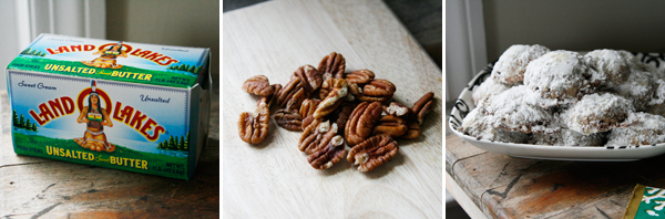 Pecan Toffee Wedding Cookies Making #shop