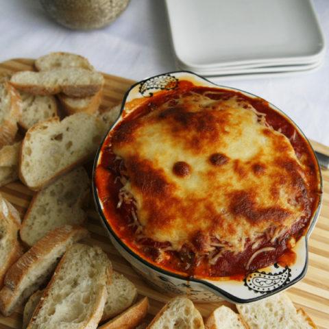 Cheesy Sausage Lasagna Dip Recipe