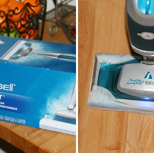 Holiday Cleaning Tips and The Swiffer BISSELL® SteamBoost™ Mop