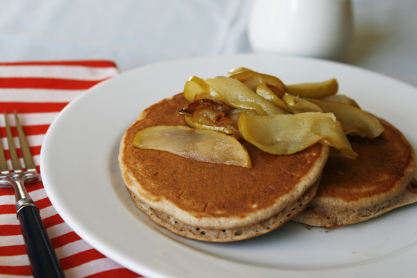 Apple Cinnamon Pancakes-2