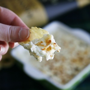 Warm Rosemary Ricotta Dip