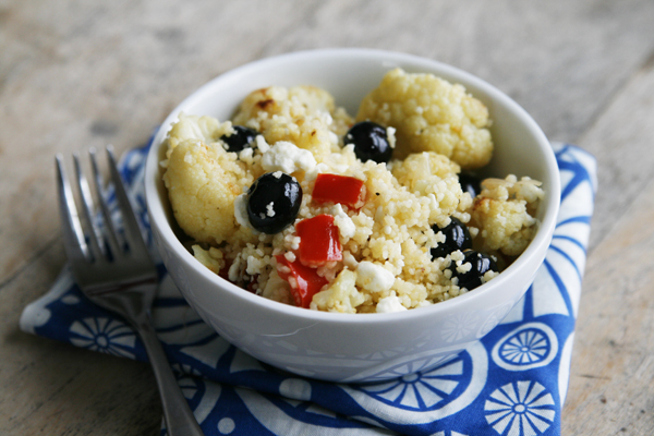 Cauliflower Blueberry Couscous
