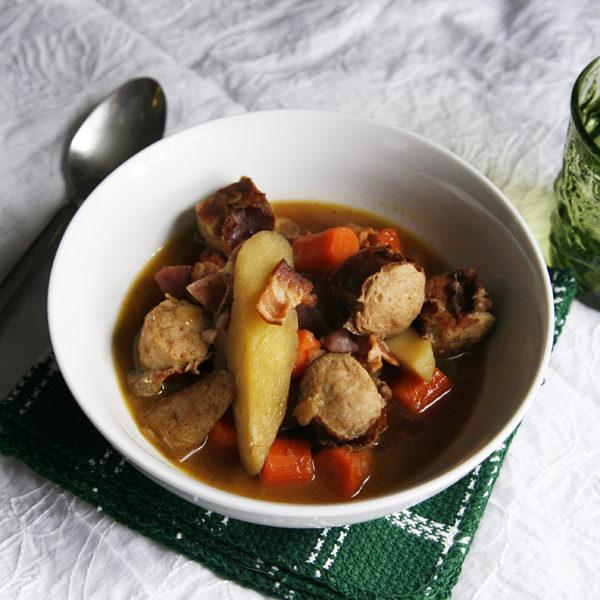 Dublin Coddle, an Irish Stew
