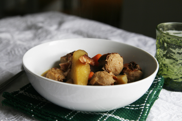 Dublin Coddle Irish Stew