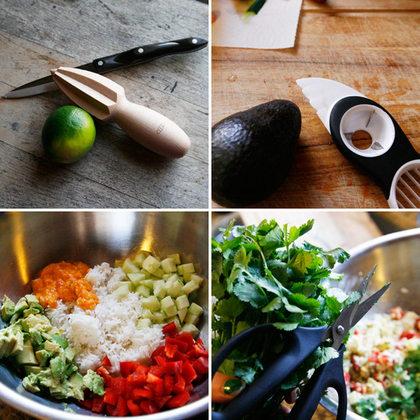How to Make Mango Chile Rice