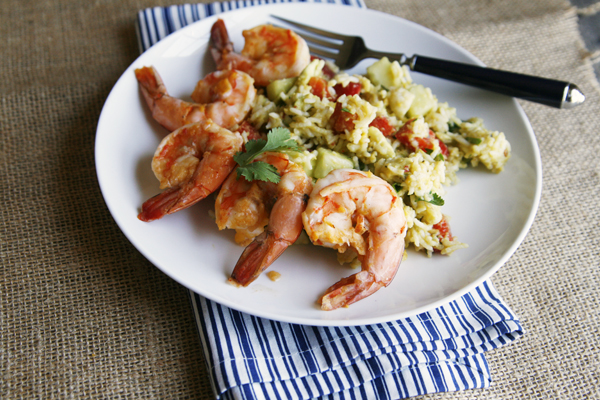 Mango Chile Shrimp