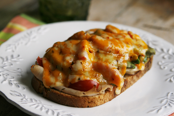 Spicy Jerk Turkey Melts