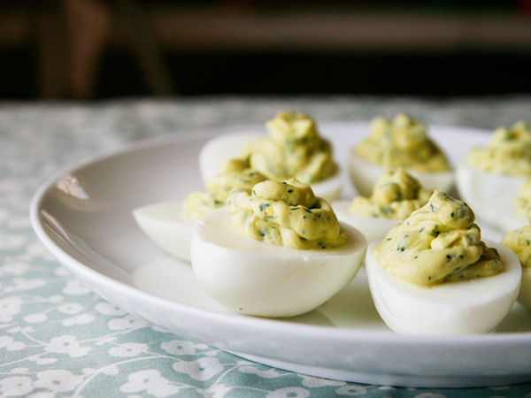 Herbed Deviled Eggs-scb