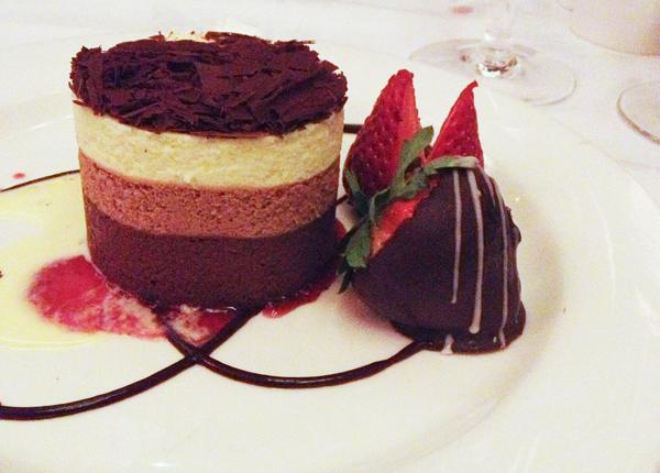 Parkers Triple Chocolate Torte