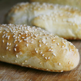 Sesame Hoagie Roll Recipe