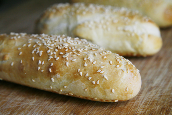 Sesame Hoagie Roll Recipe