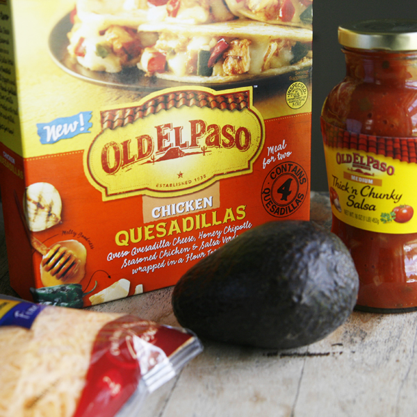 Ingredients Triple Layer Quesadilla Dip