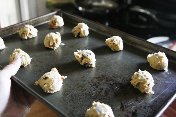 Ready to Bake Bacon Chocolate Chunk Cookies