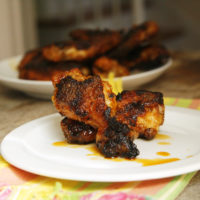Spicy Habanero Hot Wings