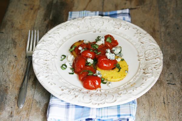 Tomato Basil Polenta
