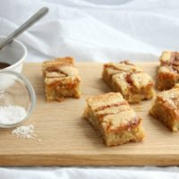 One Bowl Caramel Salted Blondies