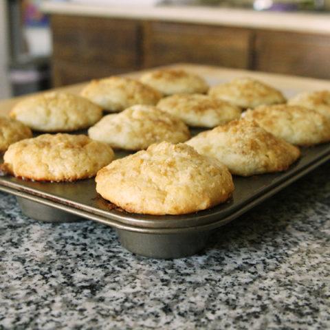 Rosewater Scented Banana White Chocolate Muffins