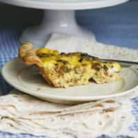 Farmers Market Bacon Quiche Sarah S Cucina Bella