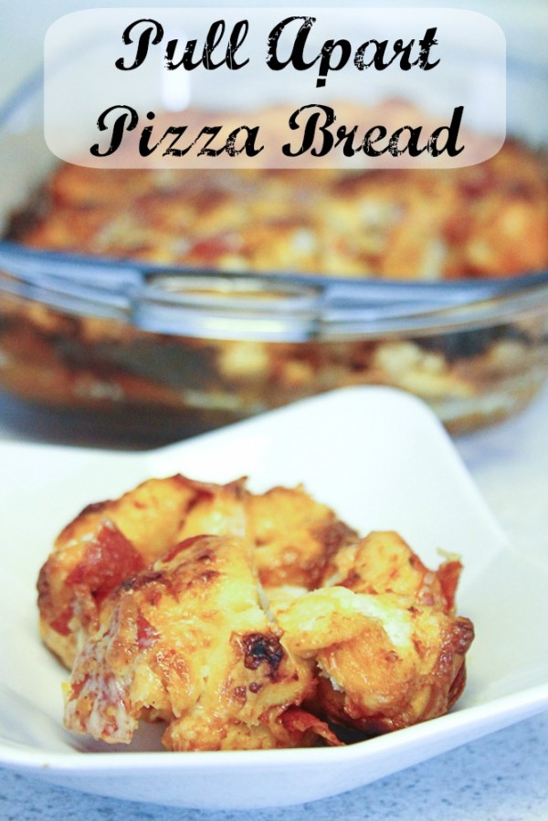 09 - Just Us Four - Pull Apart Pizza Bread