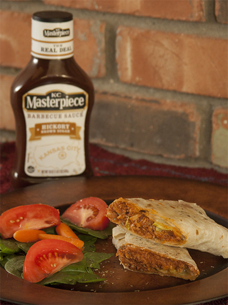 11 - Farmers Wife Rambles - BBQ Chicken Wraps
