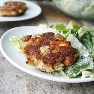 Dill Garlic Tuna Cakes
