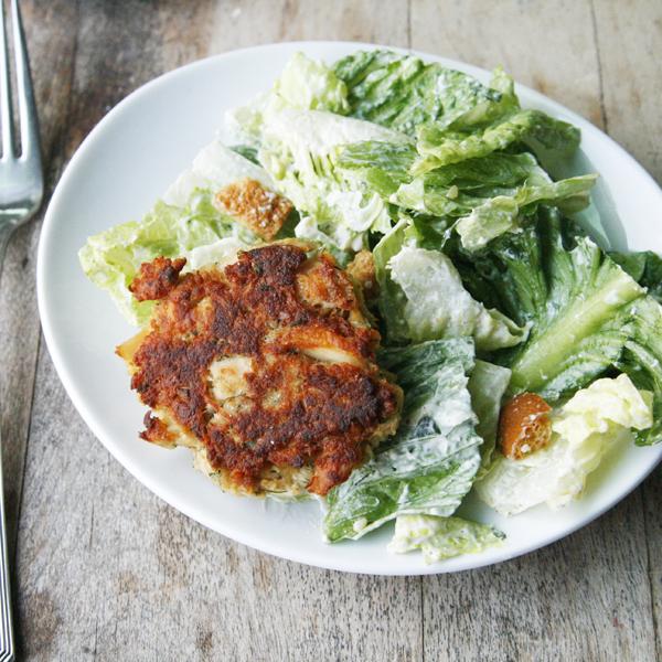 Dill Garlic Tuna Cakes Recipe