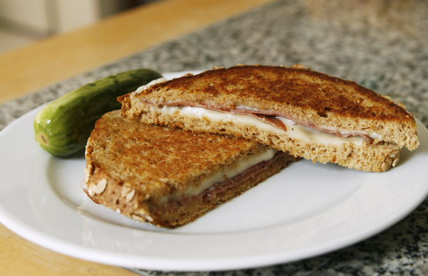 Grilled Mozzarella and Pepper Salami Sandwiches - Sarah's Cucina Bella