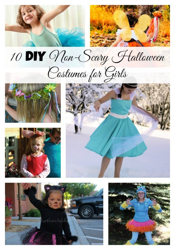 10 DIY Non-Scary Costumes for Girls