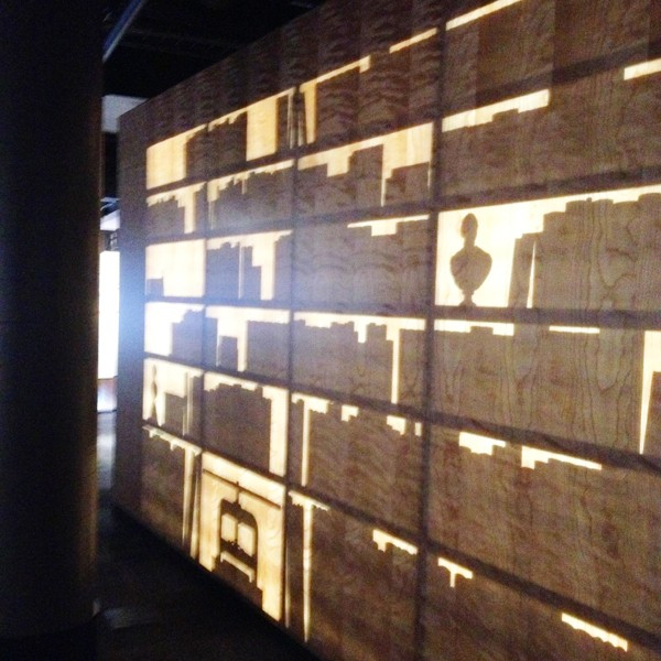 Benjamin Franklin Museum Lit Wall