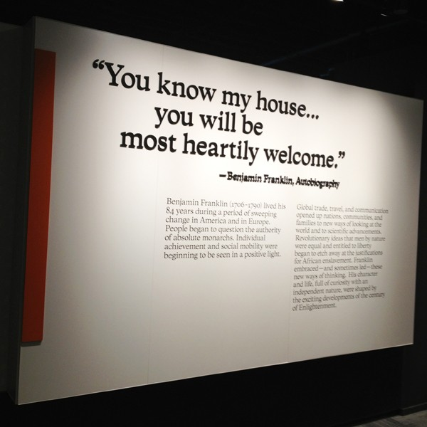 Benjamin Franklin Museum - Quotes