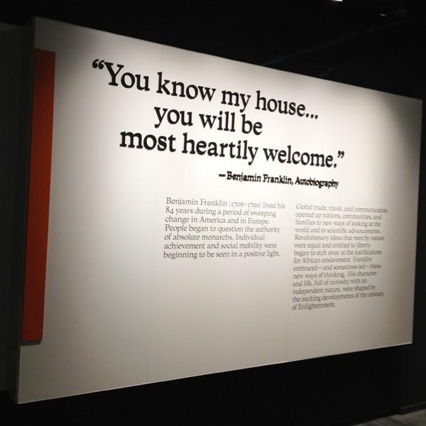 Benjamin Franklin Museum - Quotes
