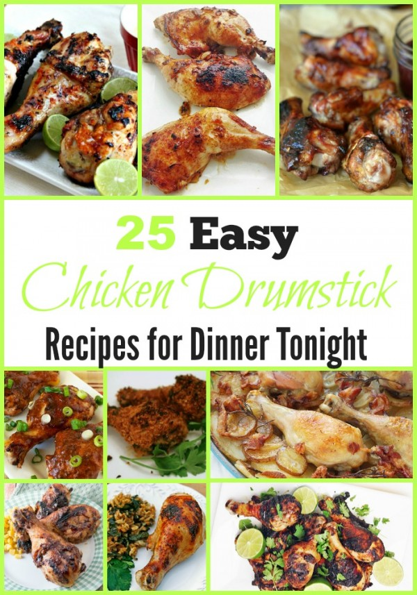 25 Easy Chicken Drumstick Recipes for Dinner Tonight