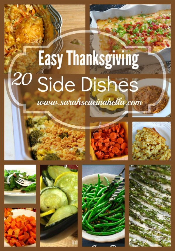 20 Easy Thanksgiving Side Dishes