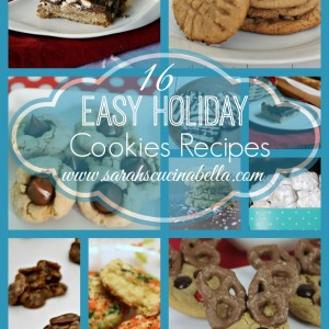 16 Easy Holiday Cookies Recipes