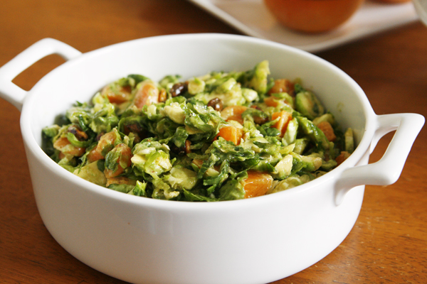Brussels Sprouts Salad with Grapefruit Vinaigrette