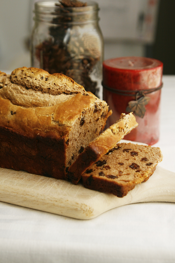 Cinnamon Raisin Beer Bread