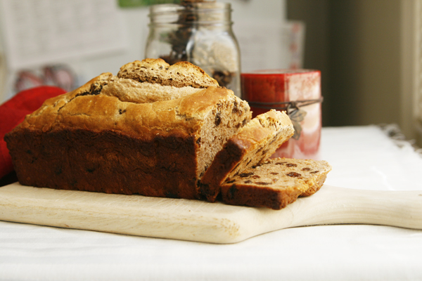 Cinnamon Raisin Beer Bread Recipe