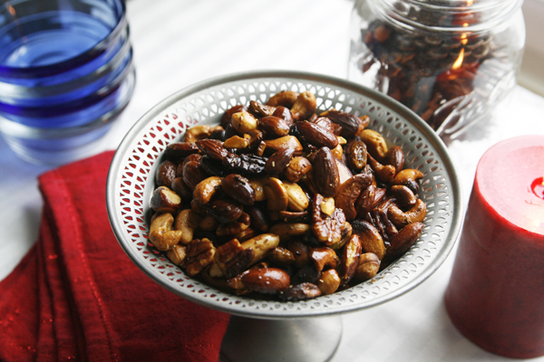Spicy Rosemary Nuts