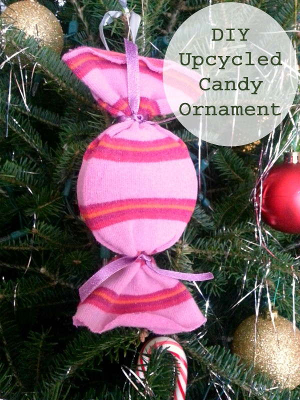 Upcycled Candy Ornament
