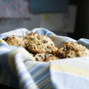 Honey Plum Scones